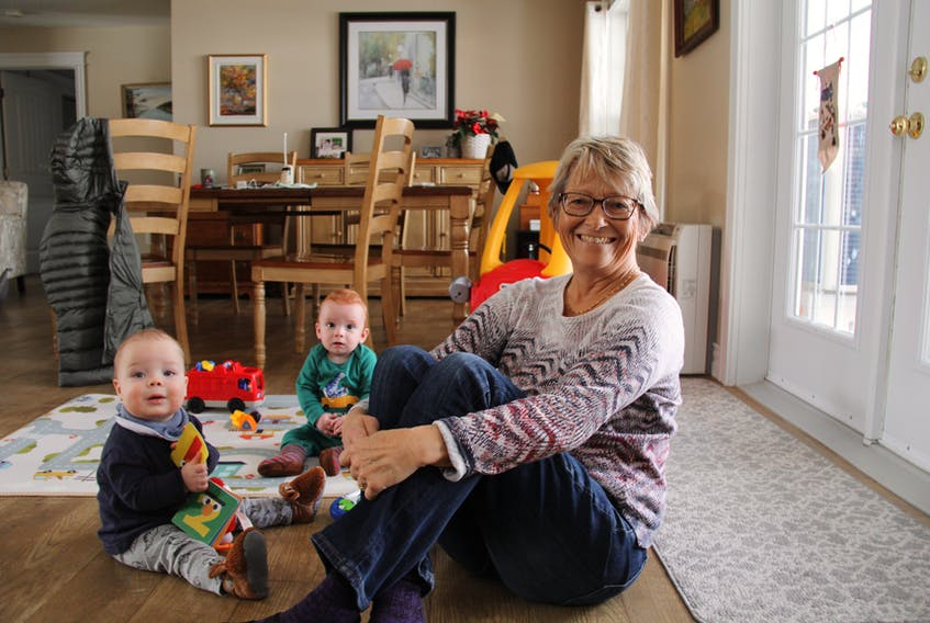 Joanne Rose looks forward to the moments she's not spending hooked to a dialysis machine. Her young grandbabies help her focus on the finer things in life. - Contributed