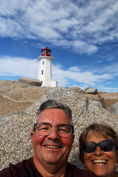 Reginald and Joanne Rose enjoy passing the time with day trips and they hope to be able to travel more in the future. - Contributed