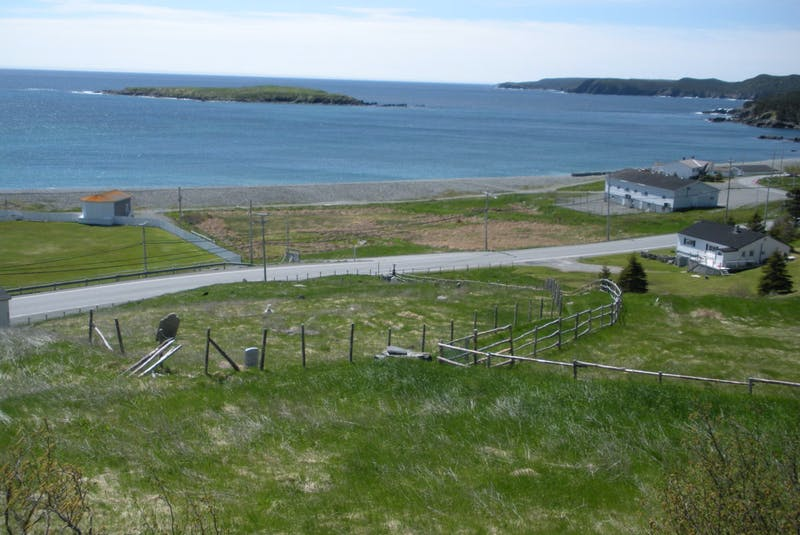 The old General Cemetery in Ferryland, where Norman Cyril Bennett is buried. — Courtesy of the Heritage Foundation of Newfoundland and Labrador