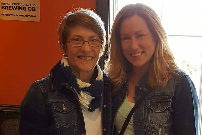 When Trina Hartlen met her birth mother, Wendy Spencer, they showed up dressed almost identically. Unfortunately, Wendy died less than a year after connecting with her daughter.  - Contributed