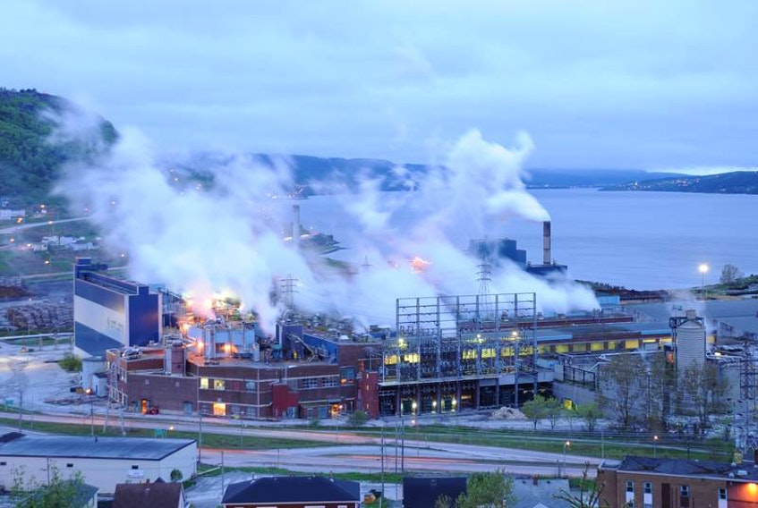 The Corner Brook paper and pulp mill has entered a temporary energy exchange due to a lack of power at the facility due to shallow water in the Grand Lake resovoir.