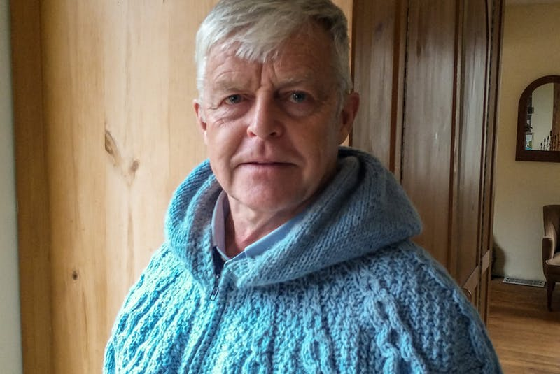 Bill English, a retired manager of integrated resource management with the provincial Department of Natural Resources (now Department of Lands and Forestry) for 14 years. CONTRIBUTED