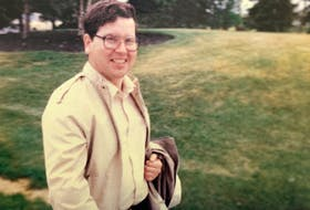Johnny Careen jumped to his death from a window at St. Clare's Mercy Hospital in St. John's in 1998. CONTRIBUTED