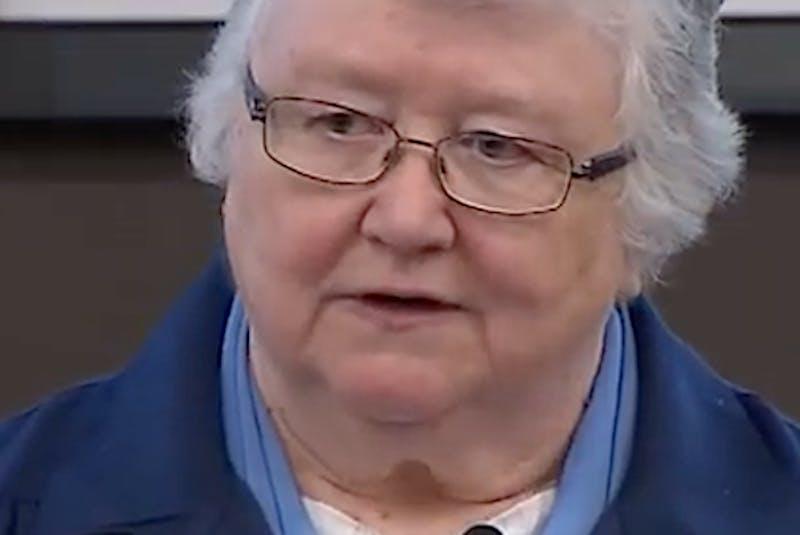 Sister Elizabeth Davis. - Contributed