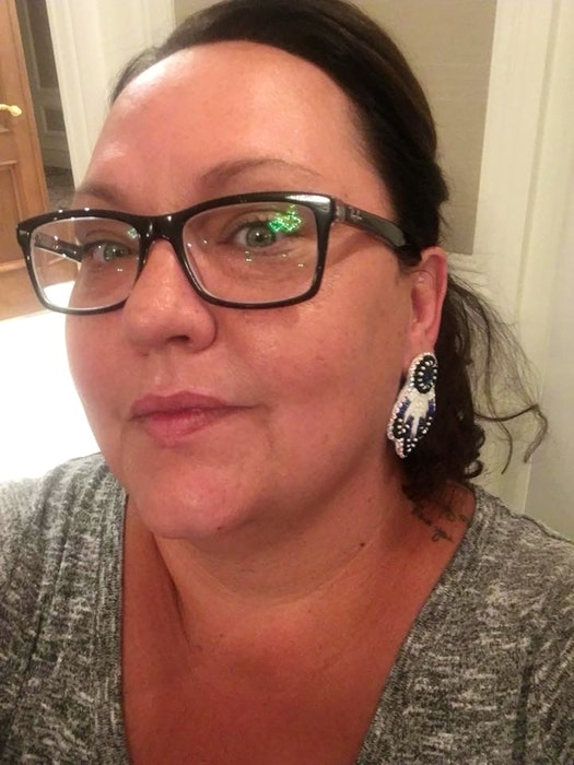 Annie Bernard-Daisley is the first female chief of We'koqma'q First Nation and said she's looking forward to wearing her new ribbon skirts when COVID-19 restrictions are eventually lifted and her community can come together again. FILE PHOTO - Christopher Connors