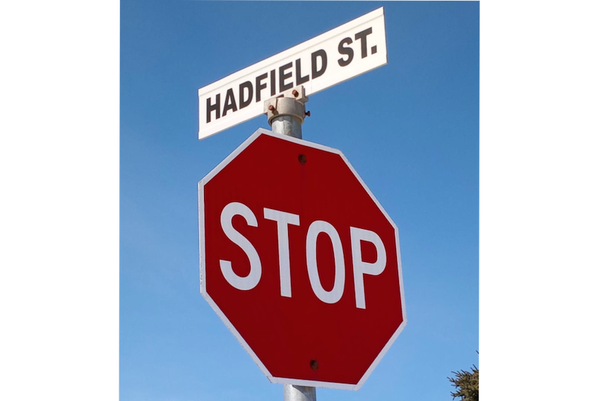 Named after Canadian astronaut Chris Hadfield, Hadfield Street is an example of Gander's street-naming policy that has seen many of its streets named after prominent aviators. Contributed photo