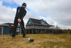 Connor Lea, general manager at the Avondale Golf Course in Vernon River, is excited about the course opening on Friday.