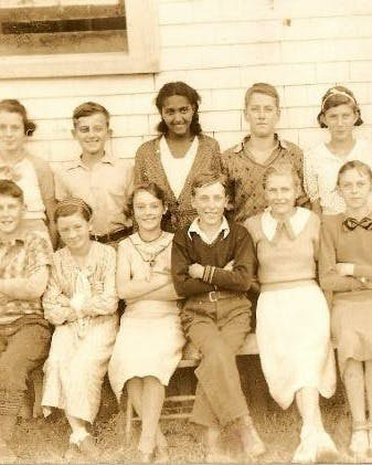 Jean Golar, who attended Falmouth Centre School in the 1930s, was the only Black child in her class. The West Hants Historical Society posted this photo to launch its Black history gathering initiative and received an outpouring of community interest as people came forward with details about her life.
