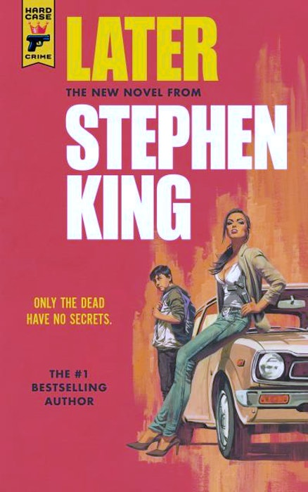 """Later"" by Stephen King tops the local fiction bestsellers list. CONTRIBUTED - Contributed"