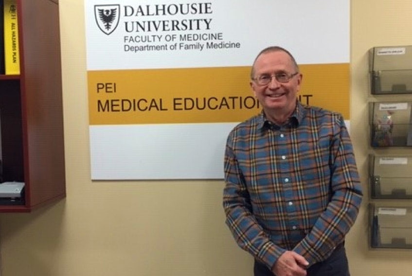 Retired family physician, Dr. Peter MacKean, shares his wisdom after a 37-year career. Despite his retirement, the P.E.I. doctor is still working to improve patient care and answered the call to work at the busy COVID-19 clinics in P.E.I. during the pandemic.