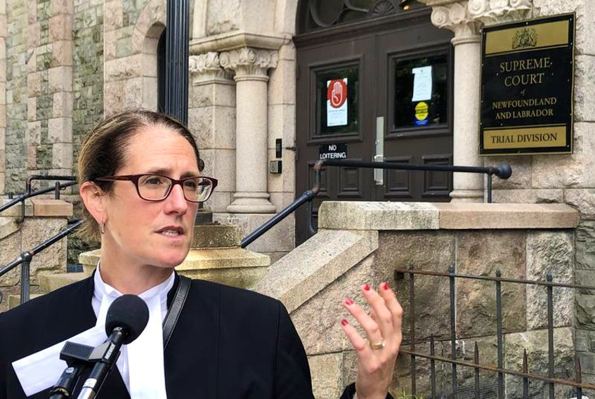St. John's lawyer Rosellen Sullivan is representing Roy Goodyear, a former corrections officer charged in connection with an incident involving an inmate at a Gander dentist's office. — FILE PHOTO