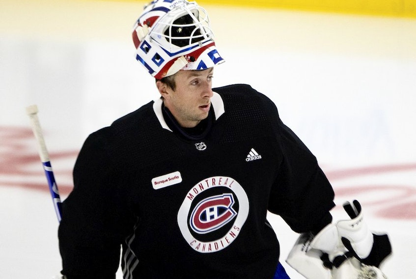 Jake Allen will be in goal Wednesday night against the Maple Leafs in Toronto. He has been solid all season with a 5-3-4 record, a 2.23 goals-against average and a .922 save percentage.