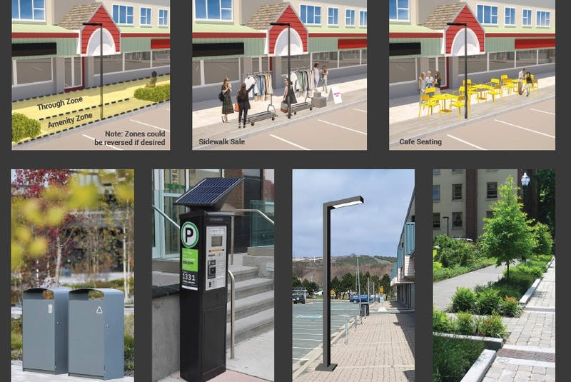 The illustration from St. John's City Council's Re-imagine Churchill Square Concept Report shows some of the plans for the area. — CITY OF ST. JOHN'S/CONTRIBUTED