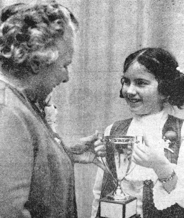 The winner of the 1971 Garth Pulsifer Trophy was Dawn Rodgers, a Windsor Elementary School pupil of Dorothy Tomlinson. For the annual speech competition, she chose the topic One Hour of Darkness. - File Photo
