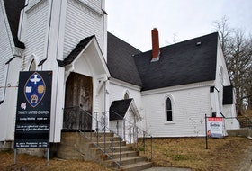 The historic Trinity United Church property in downtown Shelburne is up for sale. KATHY JOHNSON