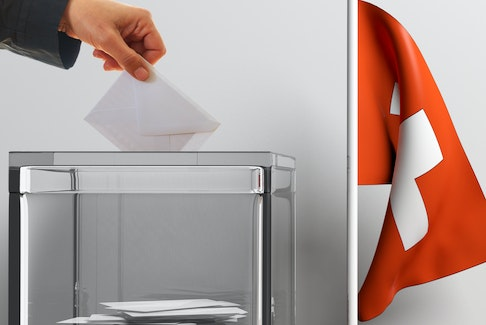 In Switzerland, citizens have the constitutional right to express their opinion through referendums.