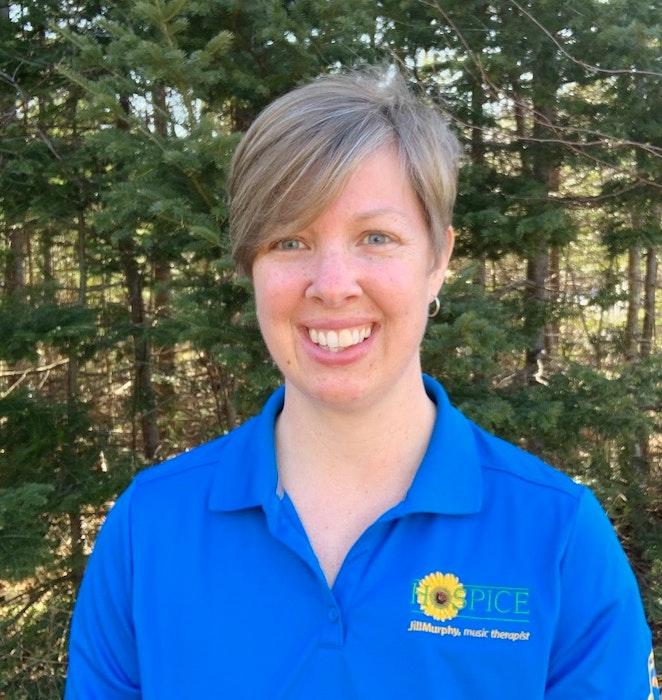 Hospice Cape Breton music therapist Jill Murphy. CONTRIBUTED - Contributed