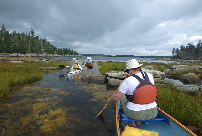For newcomers to paddling and those purchasing a kayak or canoe, Sandra Phinney, president of the Southwest Paddling Association, suggests thinking about whether you'll be doing most of it on the ocean, rivers or lakes. SANDRA PHINNEY PHOTO