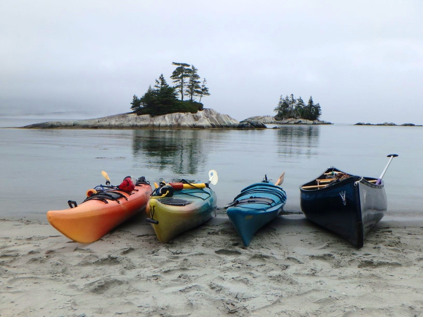 Paddling has become an important activity for many, especially during difficult times like the Covid-19 pandemic. SANDRA PHINNEY PHOTO - Contributed