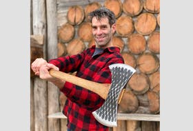 """Wild Axe Productions founder Darren Hudson says the Barrington, N.S. business and lumberjack sport, in general, has helped create """"an amazing community, and that's so fulfilling."""" CONTRIBUTED"""