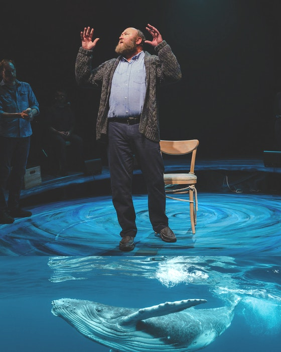 Between Breaths, inspired by a true story of a Newfoundland and Labrador man who saved more than 500 whales trapped in fishing nets, will be one of the Charlottetown Festival mainstage shows this summer. - contributed