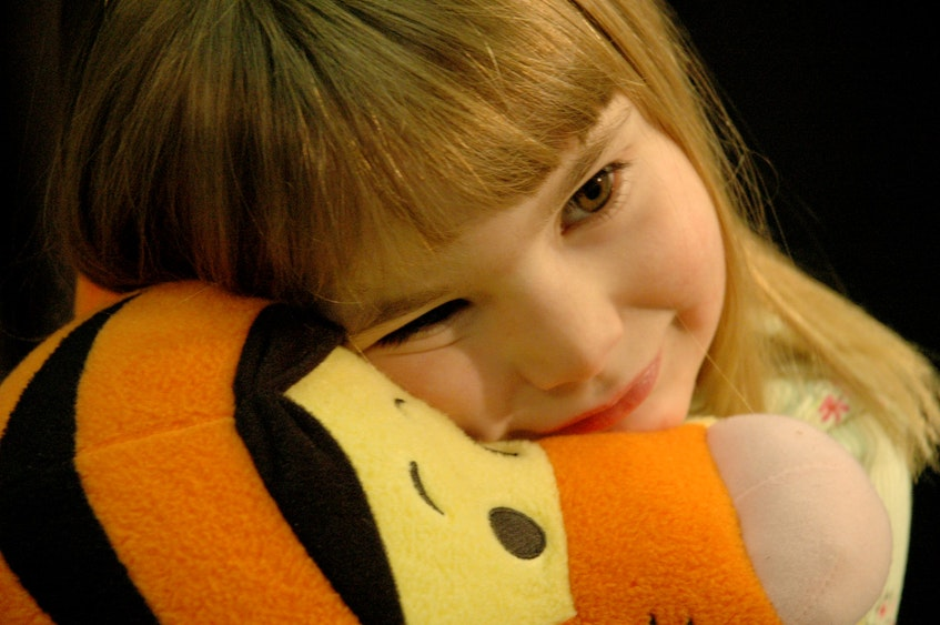 Jocelyn Stewart loved her tigger when she was a young girl. COURTESY OF FAMILY - Saltwire network