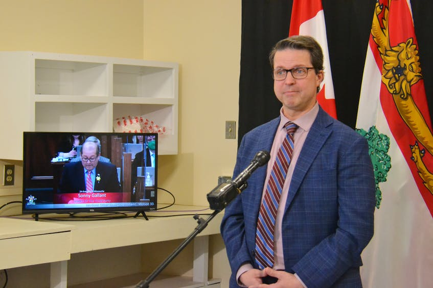 Social Development and Housing Minister Brad Trivers supported the Poverty Elimination Strategy Act. He called the bill