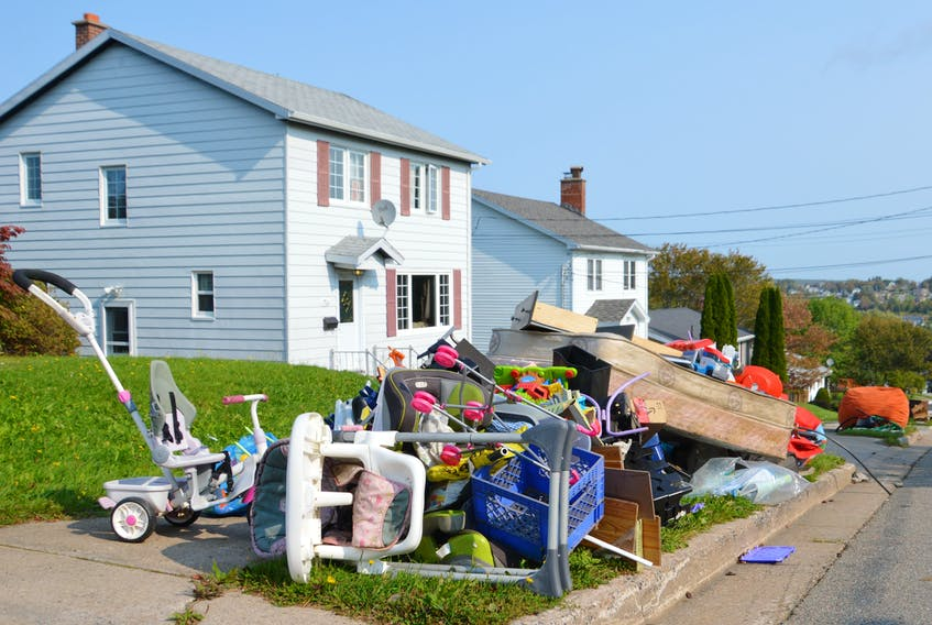 The Cape Breton Regional Municipality has yet to announce when the 2021 residential heavy garbage collection will take place. GREG MCNEIL • CAPE BRETON POST FILE