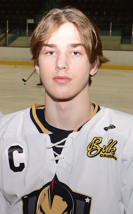 Max Chisholm is the captain of the Charlottetown Bulk Carriers Knights. - Jason Malloy • The Guardian