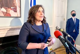 Krista Lynn Howell was one of five women named to Premier Andrew Furey's cabinet Thursday. Howell, the former mayor of St. Anthony, is the new minister of Municipal and Provincial Affairs. — Rosie Mullaley/The Telegram
