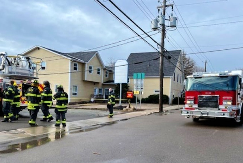 CPS and Charlottetown Fire Department arrived at 7:15 a.m. on the morning of April 5.