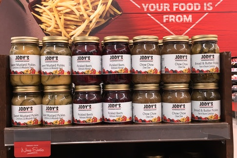 One way to watch for products made close to home is to look for these labels at Sobeys stores.