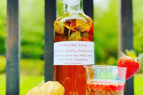 One of Meegan Lovett's first products was kombucha. She experimented with flavours, then found a way to source them locally.