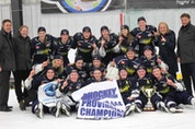 The Pictou County-based Northern Subway Selects gather to celebrate their Nova Scotia title captured April 2 in Bedford. The team features players from Truro and Antigonish as well as Pictou County.