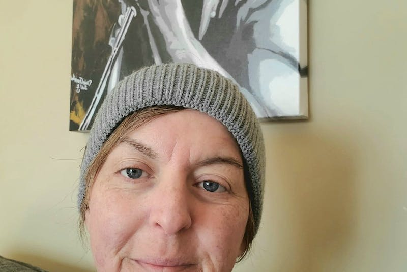 Andrea Edwards is in the middle of chemotherapy treatments for Hodgkin lymphoma. — Contributed