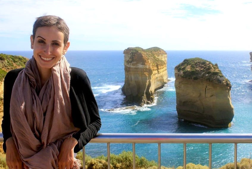 Six months after CAR-T cell therapy saved her life, Gatineau's Stefany Dupont travelled to Australia. (Photo courtesy of Stefany Dupont)