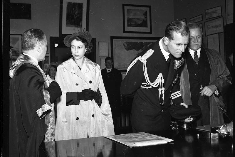 Princess Elizabeth and Prince Philip, the Duke and Duchess of Edinburgh, during a visit to Nova Scotia in Nov., 1951. - Herald file photo