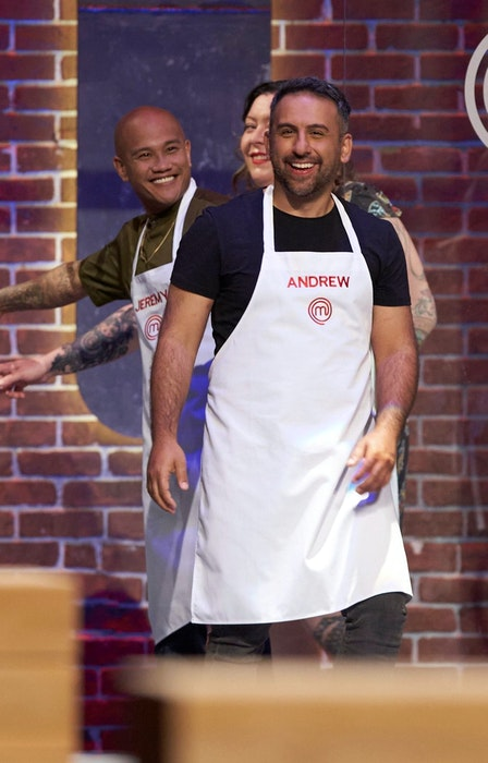 MasterChef Canada competitor Andrew Al-Khouri is shown entering the popular show's set. CONTRIBUTED