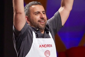 MasterChef Canada competitor Andrew Al-Khouri is one of six remaining chefs. CONTRIBUTED