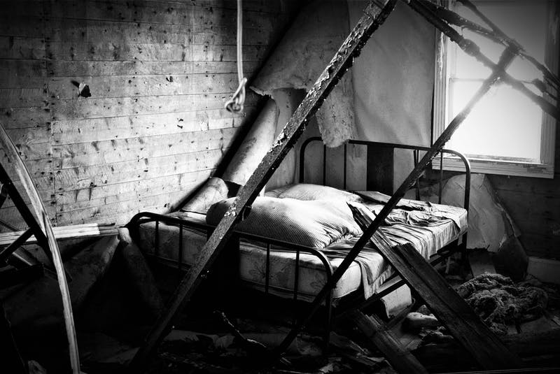 This old bed in Trinity East is an example of what Cory Babstock hopes to capture. — Photo courtesy Cory Babstock