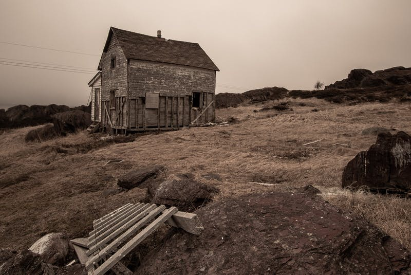An upcoming photography project by Cory Babstock will document places like this abandoned home in Tickle Cove. — Photo courtesy Cory Babstock