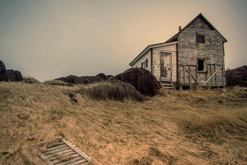 This abandoned house in Tickle Cove is one of a number of homes photographer Cory Babstock has shot as a part of his project. — Photo courtesy of Cory Babstock
