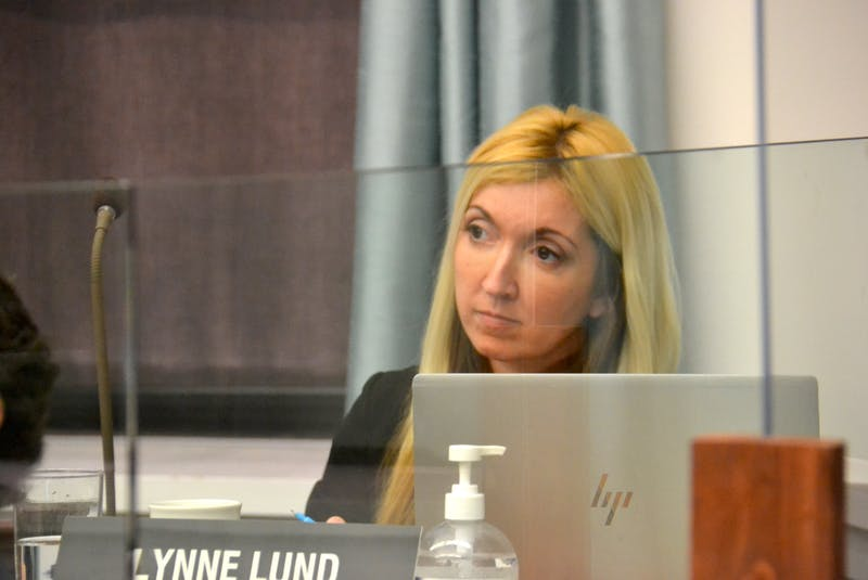 Green MLA Lynne Lund asked whether Water Act regulations would allow multiple low-capacity wells to withdraw as much water as high capacity wells. - Stu Neatby
