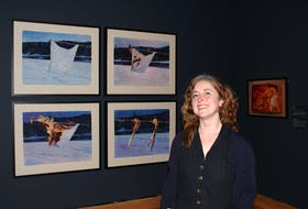 """Mireille Eagan is curator of contemporary art at The Rooms in St. John's and the editor of """"Future Possible: An Art History of Newfoundland and Labrador."""" — Andrew Waterman//The Telegram"""