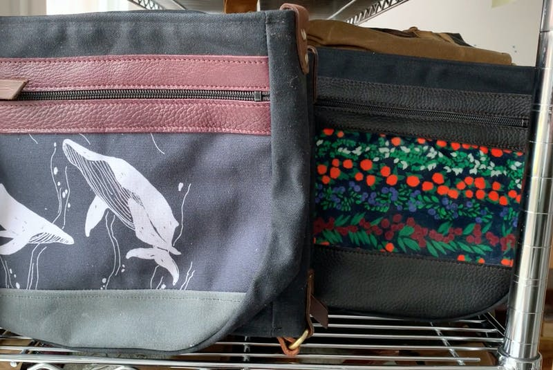 Ragmaw bags are locally designed and made. — Andrew Robinson/The Telegram - Andrew Robinson