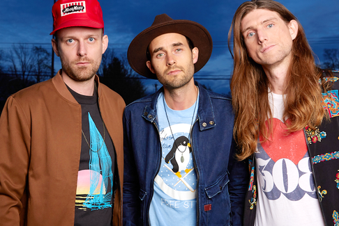 The East Pointers (Jake Charron, left, Tim Chaisson and Koady Chaisson) will perform Saturday night as part of the CFMA virtual award show.