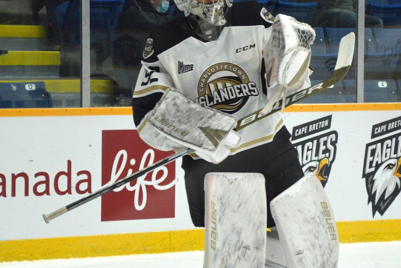 River Denys' Colten Ellis was an honourable mention for the QMJHL's goaltender of the month award for March. He posted a 4-0 record with a 1.47 goals-against-average and a .942 save percentage. JEREMY FRASER • CAPE BRETON POST - Contributed