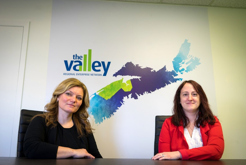 Valley Regional Enterprise Network (REN) economic development officer Richelle Brown Redden and CEO Jennifer Tufts are grateful for the level of community engagement they're experiencing as the organization works toward the establishment of a Regional Workforce Development Strategy. MEAGAN HANCOCK PHOTO