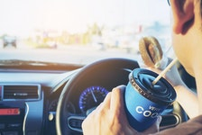 Texting and making calls aren't the only forms of distracted driving. 123rf stock photo