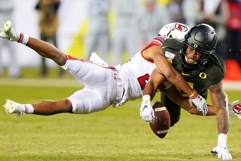 Oregon Ducks safety and Coquitlam, B.C. native Jevon Holland is heading to the Miami Dolphins.Getty Images